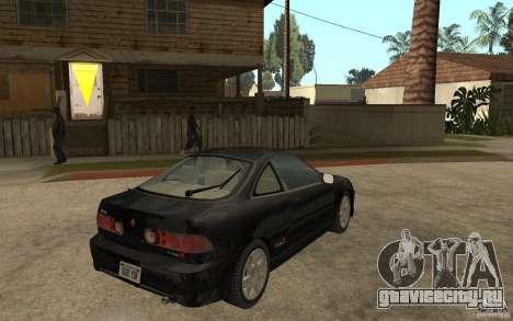 Acura Integra Type-R для GTA San Andreas вид справа