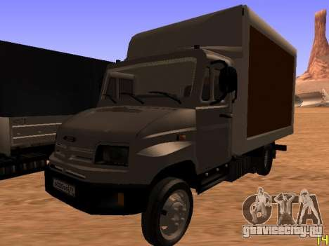 ЗиЛ 5301 Бычок для GTA San Andreas вид сбоку
