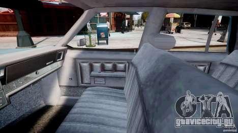 Chevrolet Impala 1983 [Final] для GTA 4 вид изнутри