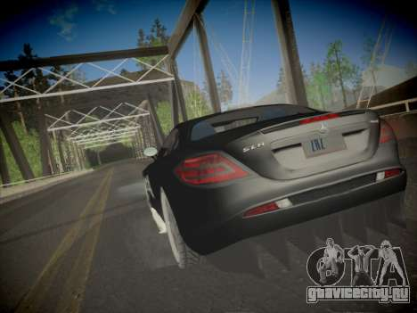 Mercedes-Benz SLR 722 Custom Edition для GTA San Andreas вид слева