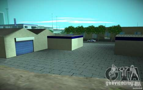 HD Garage in Doherty для GTA San Andreas шестой скриншот