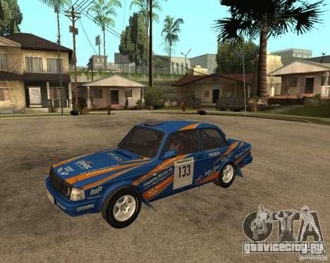 Volvo 242 Lightspeed Rally Edition для GTA San Andreas