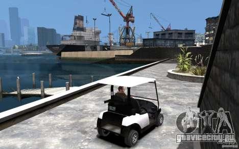 Caddy To IV для GTA 4 вид справа