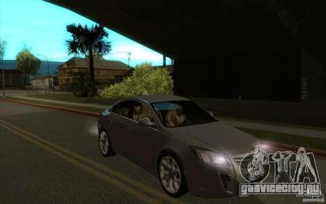 Opel Insignia 2011 для GTA San Andreas вид сзади