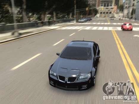 Pontiac G8 GXP для GTA 4 вид сбоку