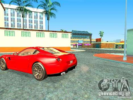 Ferrari 599 GTB для GTA San Andreas вид слева