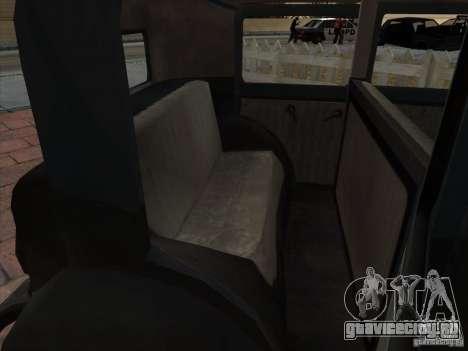 Автомобиль второй мировой войны для GTA San Andreas вид сбоку