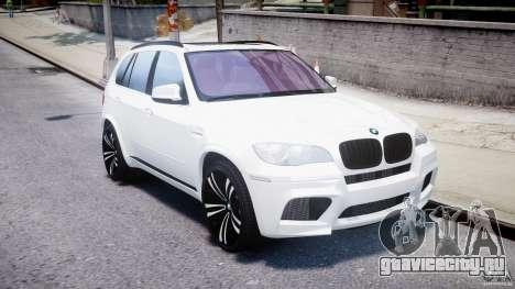 BMW X5M Chrome для GTA 4 вид изнутри