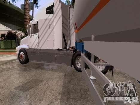 Freightliner Century для GTA San Andreas вид сзади слева