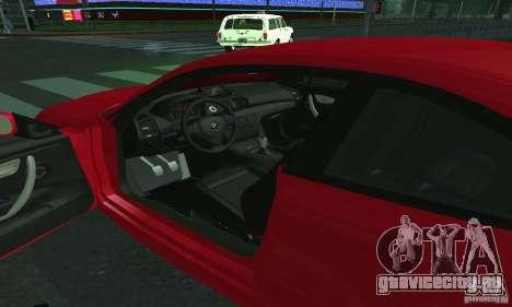 BMW 135i Coupé для GTA San Andreas вид справа