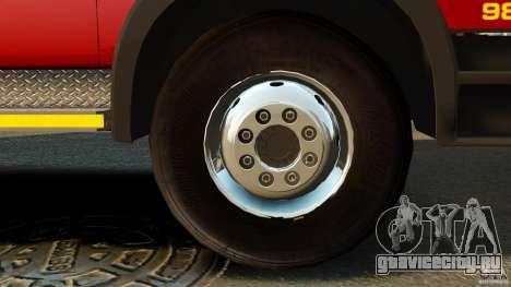 Mercedes-Benz Atego NMBMM [ELS] для GTA 4 вид сзади