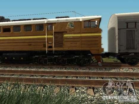 2ТЕ10У-0137 для GTA San Andreas вид слева