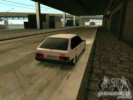 ВАЗ 2109 для GTA San Andreas вид сзади слева