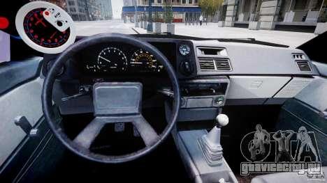 Toyota AE86 TRUENO Initial D для GTA 4 вид справа
