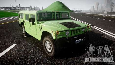 Hummer H1 для GTA 4 вид сбоку