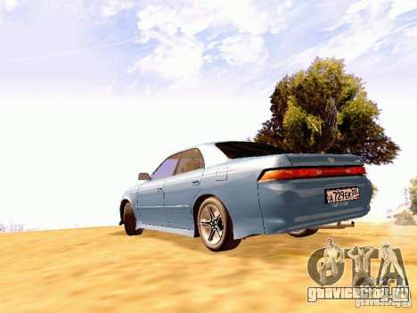 Toyota Mark II JZX90 для GTA San Andreas вид слева