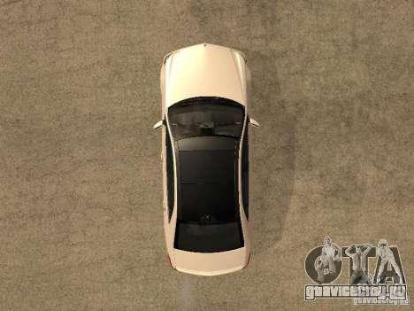 Mercedes-Bens e63 AMG для GTA San Andreas вид справа