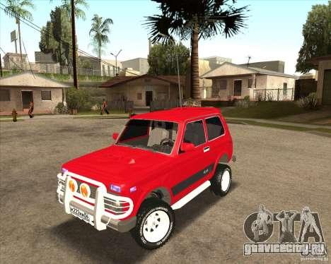 ВАЗ 21213 4x4 для GTA San Andreas вид сверху