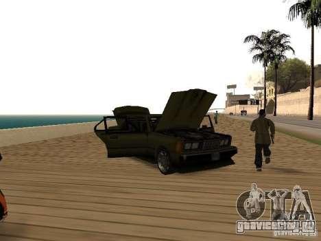 Sentinel XS для GTA San Andreas вид сзади