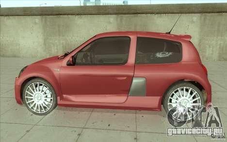 Renault Clio V6 для GTA San Andreas вид слева