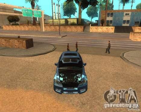 BMW Motorsport X6 M v. 2.0 для GTA San Andreas вид сзади слева
