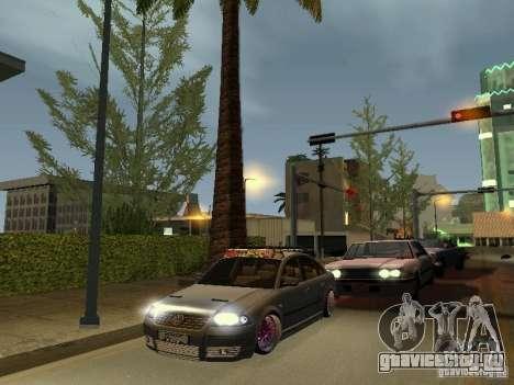 VW Passat B5 Dope для GTA San Andreas вид сзади