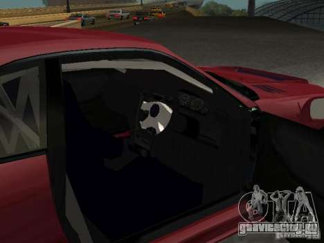 Nissan Skyline GT-R BCNR 33 для GTA San Andreas вид сзади
