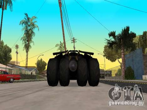 Tumbler Batmobile 2.0 для GTA San Andreas вид справа