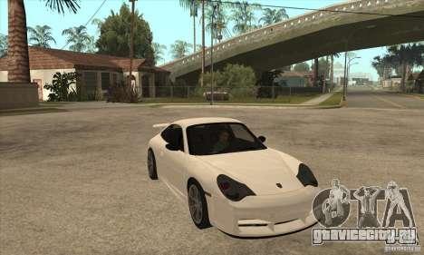 Porsche 911 GT3 (996) для GTA San Andreas вид сзади