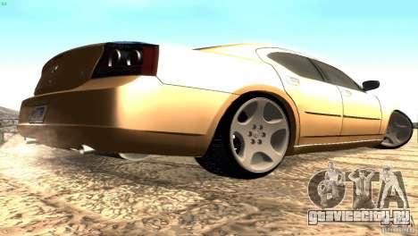 Dodge Charger SRT8 Re-Upload для GTA San Andreas вид справа