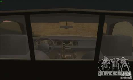 Ford Crown Victoria Colorado Police для GTA San Andreas вид сзади слева