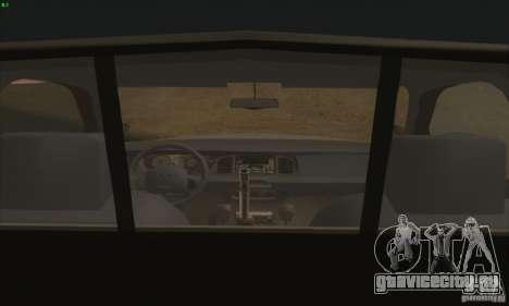 Ford Crown Victoria Colorado Police для GTA San Andreas вид сзади слева