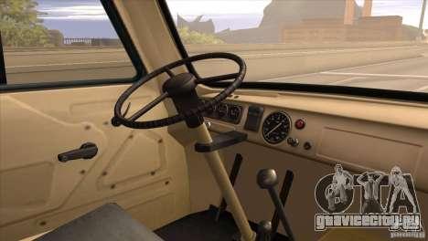 УАЗ 450 для GTA San Andreas вид сзади