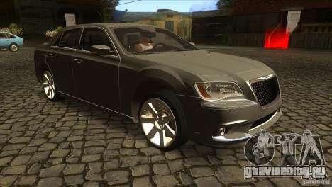 Chrysler 300 SRT-8 2011 V1.0 для GTA San Andreas вид сзади