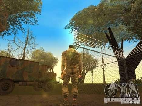 Дегтярев из Сталкера для GTA San Andreas второй скриншот