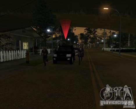 Охрана на джипе для GTA San Andreas четвёртый скриншот