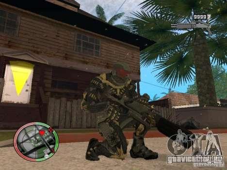 Сборник оружий Crysis 2 для GTA San Andreas шестой скриншот