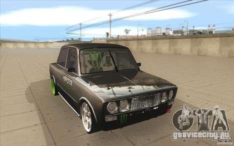 ВАЗ-2106 Lada Drift Tuned для GTA San Andreas вид сзади