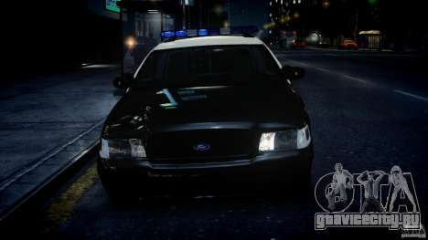 Ford Crown Victoria Fl Highway Patrol Units ELS для GTA 4
