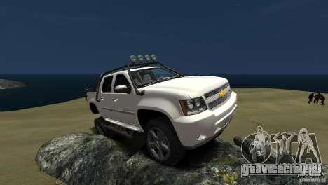 Chevrolet Avalanche 4x4 Truck для GTA 4