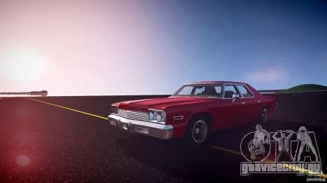 Dodge Monaco 1974 для GTA 4 вид сзади