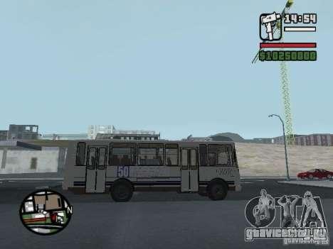 ПАЗ 4234 v1 для GTA San Andreas вид сзади слева