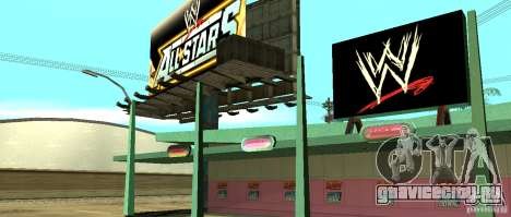 Новый магазин WWE для GTA San Andreas четвёртый скриншот