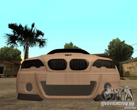 BMW M3 CSL E46 G-Power для GTA San Andreas вид справа