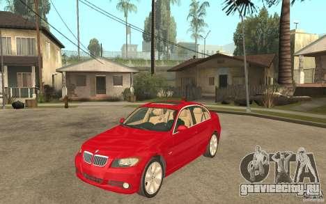 BMW 330i E90 v.2.0 для GTA San Andreas
