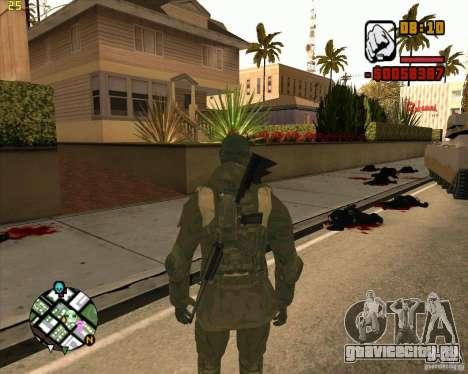 Cкин SAS для GTA San Andreas второй скриншот