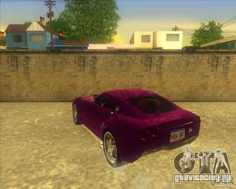 Melling Hellcat для GTA San Andreas вид справа