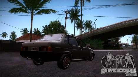 Fiat Regata для GTA San Andreas вид справа