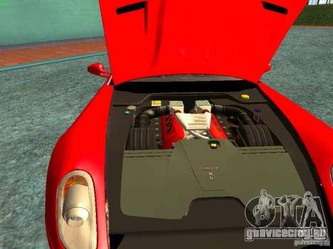 Ferrari 599 GTB для GTA San Andreas вид сбоку