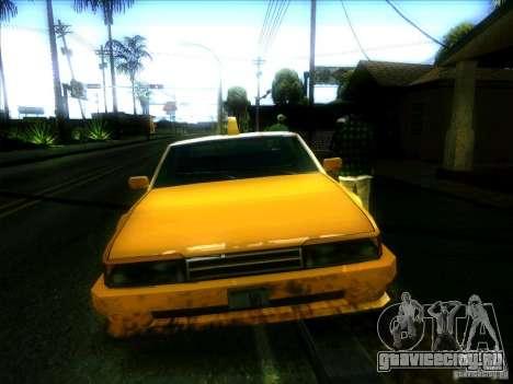 Sunrise Taxi для GTA San Andreas вид сзади